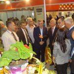من زيارة السادة وزراء الزراعة والإعلام والاقتصاد لجناح الهيئة في معرض دمشق الدولي