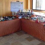 عينات للمنتجات الصناعية التقليدية المُحضرة في مركز البحوث العلمية الزراعية باللاذقية ومركز بحوث السلمية و منتجات مركز تنمية المرأة الريفية في اللاذقية.
