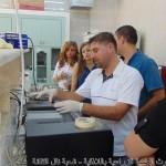 د.مازن رجب أثناء الشرح العملي